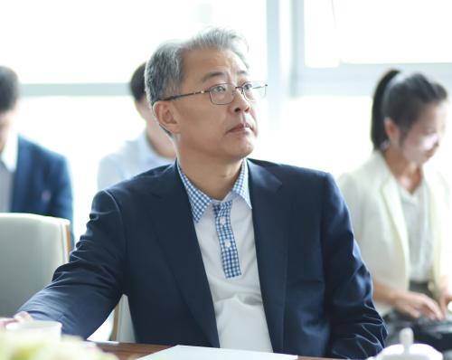 光大集团董事长李晓鹏到访特斯联 打造新经济核心引擎