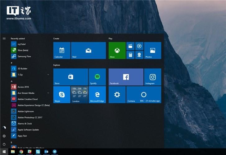 微软推送Windows 10 19H1跳跃预览版18247系统更新