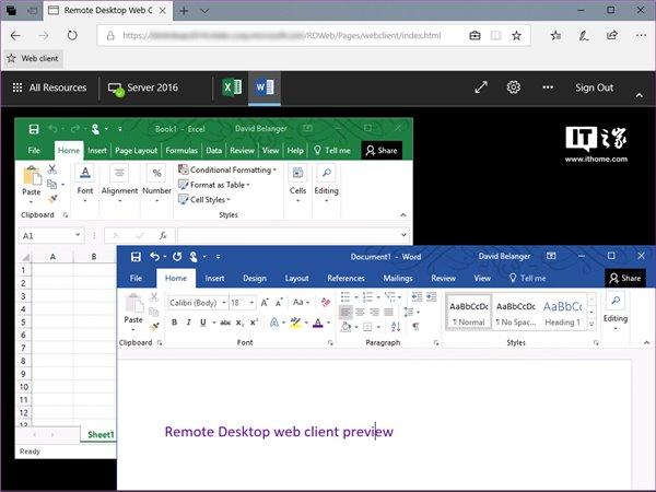 微软正式宣布推出Remote Desktop远程桌面网页版