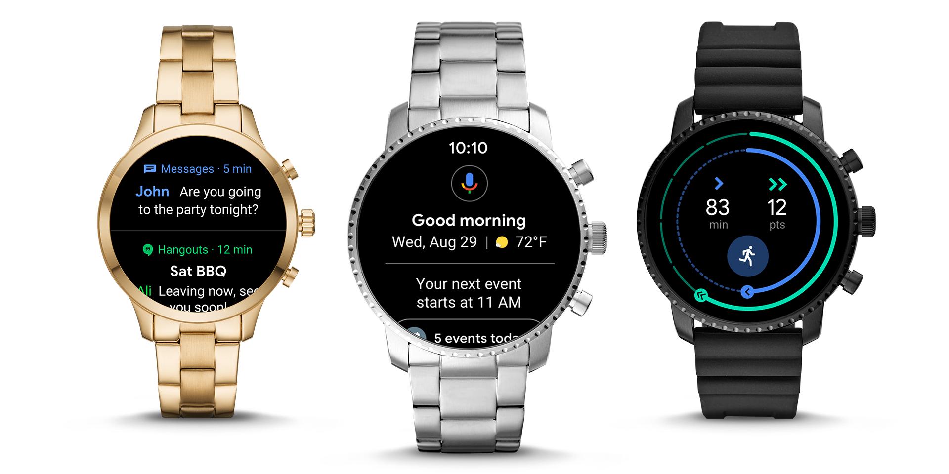 谷歌发布Wear OS 2.1:交互重新设计 大部分手表可升