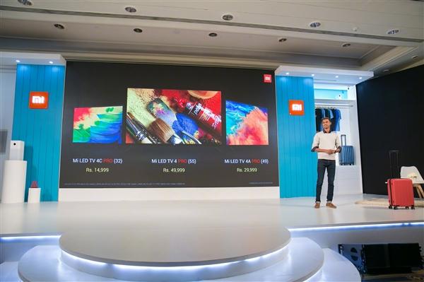 内容丰富:小米在印推三款智能电视 均支持语音搜片