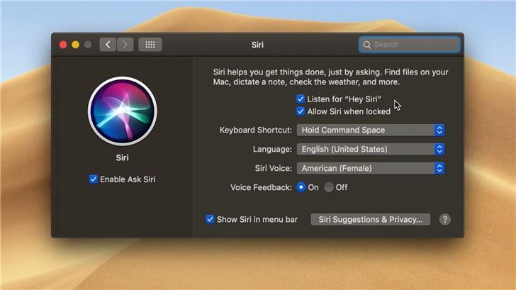 "macOS Mojave推出后,苹果iMac Pro开启支持""嘿Siri""唤醒"