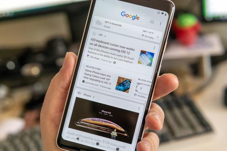谷歌搜索宣布全面改版搜索框下增加个性化信息流