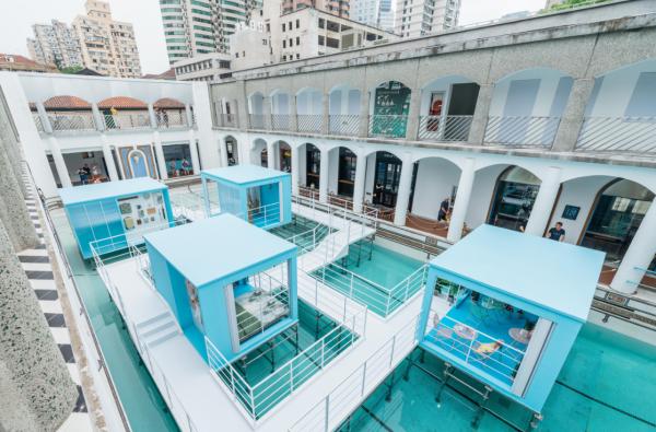 当精选电商遇见城市地标,网易严选水屋登陆上海上生新所