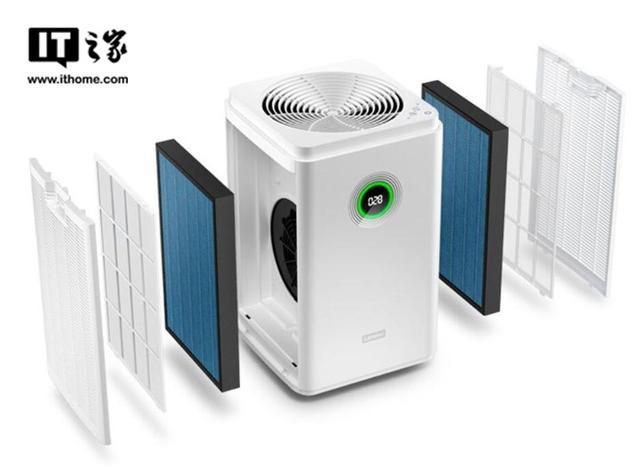 联想发布智能空气净化器:很快很安静