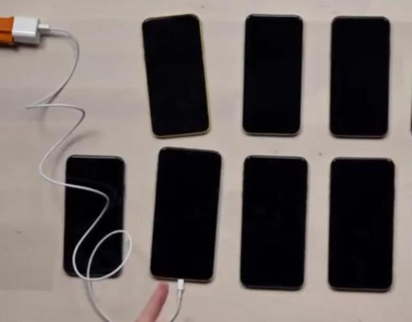 YouTube博主视频截图:充电异常