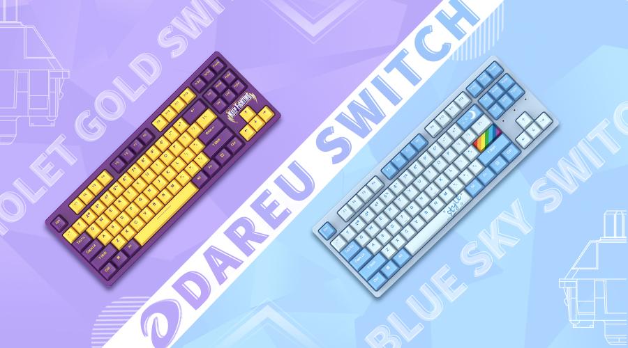 手感新锐来袭,全新插拔轴设计 ▎达尔优DAREU-A87全插拔定制轴机械键盘正式发布