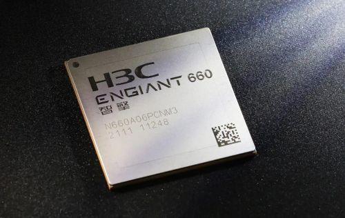 """新华三自研""""智擎""""600 系列智能网络芯片亮相:采用 16nm 工艺,180 亿个晶体管"""