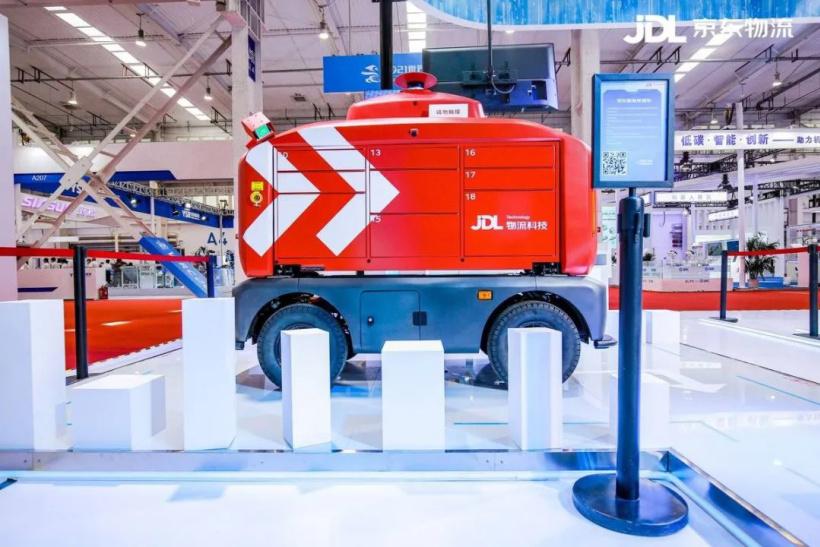 京东物流:多款机器人已商业化运营