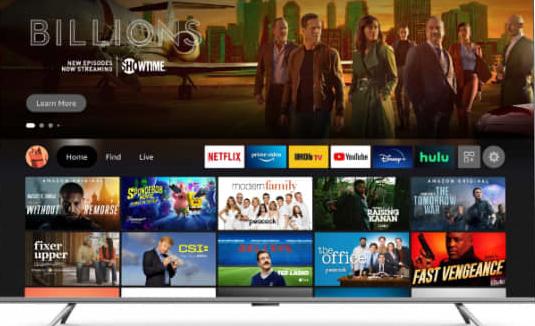 亚马逊首次推出自有品牌电视:10 月上市,370 美元起