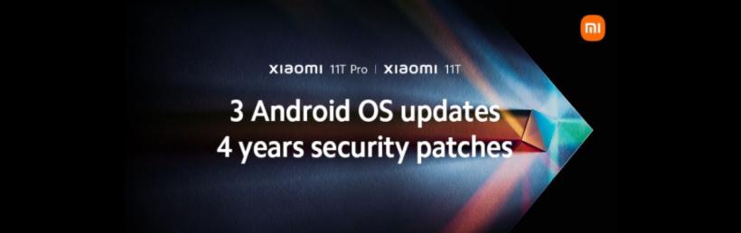 小米跟进:11T/11T Pro 将获得三次安卓大版本升级和四年安全补丁