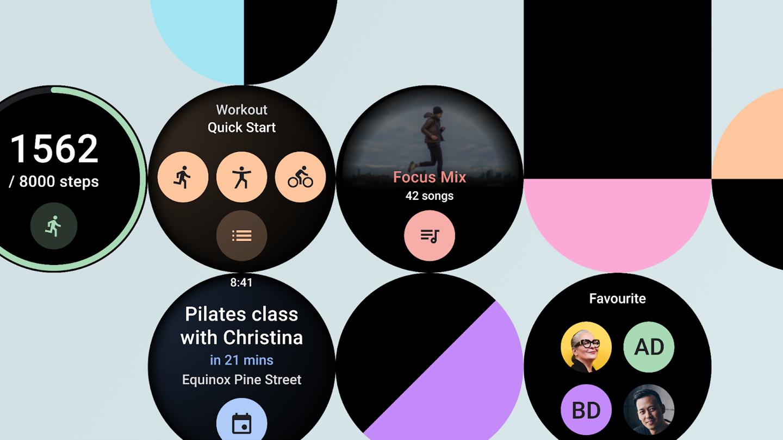 谷歌:开发者可通过 Wear OS 全新 Tiles API 与智能手表用户分享磁贴